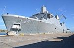 USS John P. Murtha (LPD 26) moors pier side at Naval Station Guantanamo Bay 160817-N-OX321-001.jpg