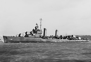 USS Kendrick (DD-612) underway off the Mare Island Navy Yard on 6 December 1942.jpg