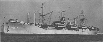 USS Telfair (APA-210) - Image: USS Telfair (APA 210)