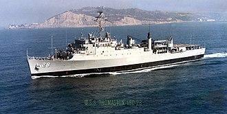 Thomaston-class dock landing ship - Image: USS Thomaston;10122801