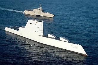 Boondoggle - Zumwalt-class destroyer