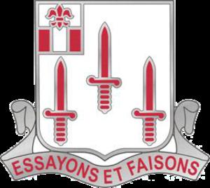 54th Engineer Battalion (United States) - Image: US Army 54th Brigade Engineer Battalion DUI