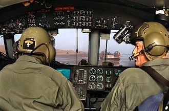 Landing Craft Air Cushion - US Navy sailors pilot a LCAC transporting U.S. Marines ashore