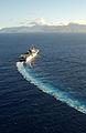 US Navy 040628-N-6932B-055 The amphibious assault ship USS Tarawa (LHA 1) approaches Naval Station Pearl Harbor, Hawaii.jpg
