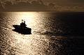 US Navy 040628-N-6932B-060 The amphibious assault ship USS Tarawa (LHA 1) approaches Naval Station Pearl Harbor, Hawaii.jpg