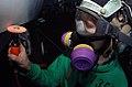 US Navy 041101-N-8158F-116 Aviation Electronics Technician 3rd Class Joshua Hockenberry, of Orlando, Fla., performs corrosion preventive procedures on an EA-6B Prowler.jpg