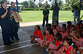 US Navy 050517-N-7027P-087 Dental Technician 2nd Class Deborah McLeod along with Culinary Specialist 2nd Class Tristam Randall instruct students of the Modilion International School in Madang, Papua.jpg