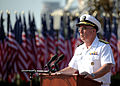 US Navy 110911-N-NY820-176 Adm. John C. Harvey Jr. speaks during a 9-11 Remembrance ceremony at Town Point Park.jpg