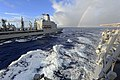 US Navy 111101-N-VH839-002 USNS Walter S. Diehl (T-AO 193) transits alongside USS Wayne E. Meyer (DDG 108).jpg
