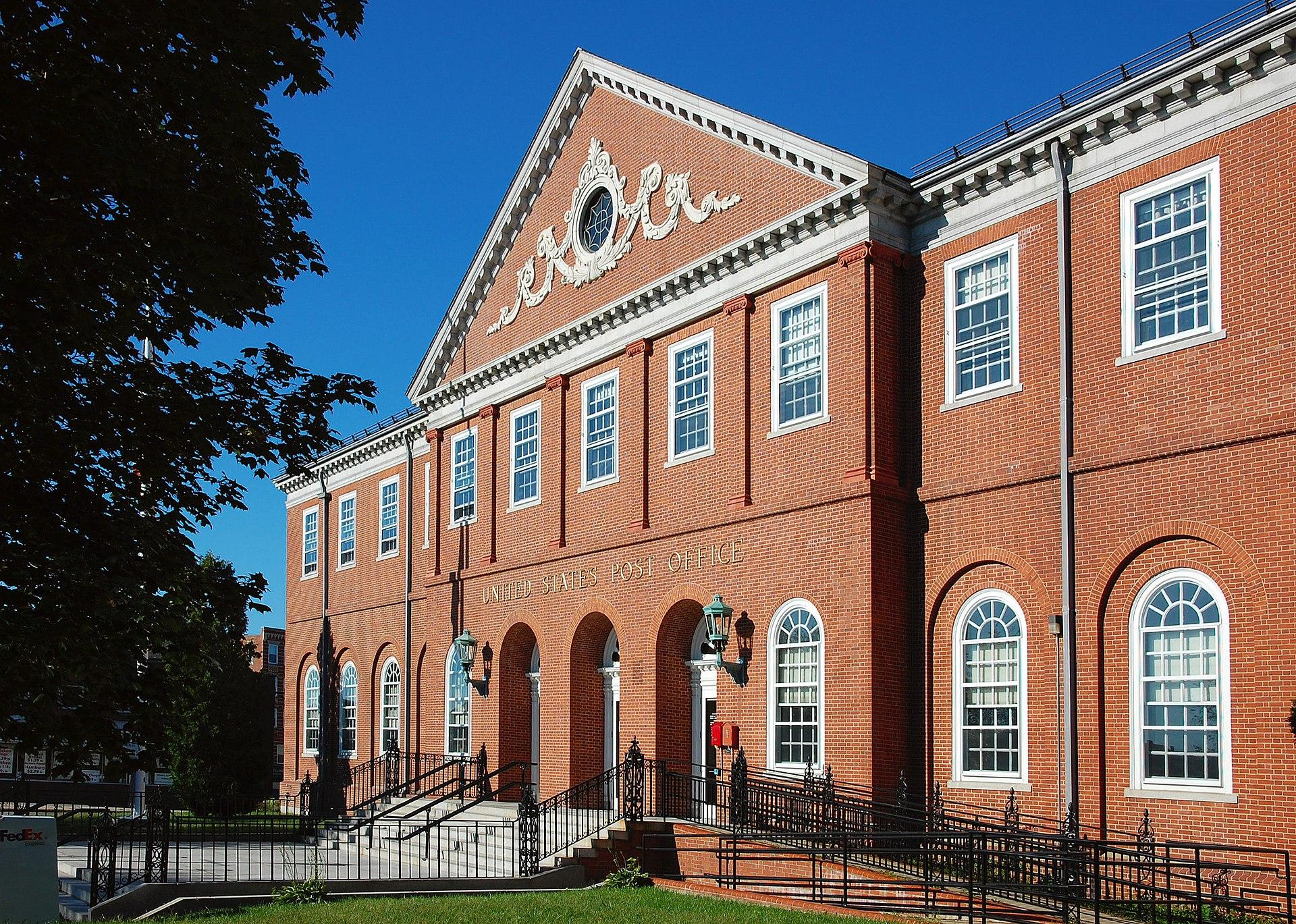United States Post Office Salem Main Wikipedia