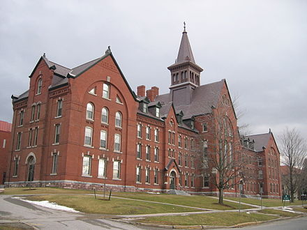 The University of Vermont Old Mill, the oldest building of the university UVM Old Mill building 20040101.jpg