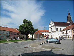 Uherský Ostroh - Town square