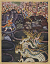 Umar Defeats a Dragon - Daswanth.jpg