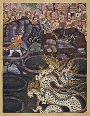 Umar Defeats a Dragon
