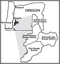 Umpqua Oregon Map.Umpqua National Forest Wikipedia