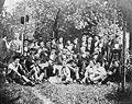 Unbekannter Fotograf Die Tübinger Königsgesellschaft Roigel im Kurzischen Garten 22t Juny 1857 Salzpapierabzug.jpg
