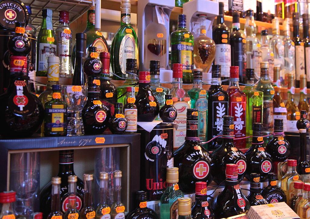 Herbal Liqueur Becherovka (What to buy in Prague)