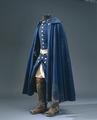 Uniform tillhörande Karl XII buren vid Fredrikstens fästning år 1718 - Livrustkammaren - 47853.tif