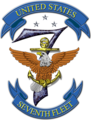 United States Seventh Fleet insignia, 2016 (transparent).png