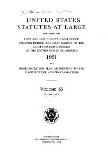United States Statutes at Large Volume 65.djvu