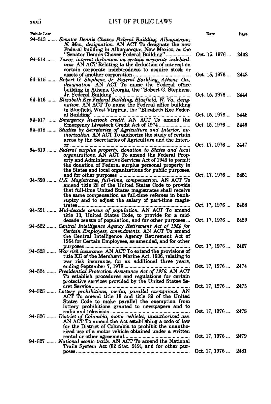 Page united states statutes at large volume 90 part for National motor vehicle title information system