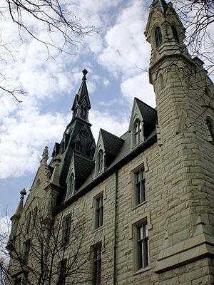University Hall (Northwestern University) - University Hall in the present day.