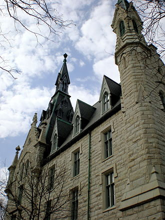 University Hall (Northwestern University) - University Hall in the present day.