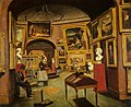 Unknown Artist, Interior of the National Gallery of Scotland, c 1867-1877.jpg