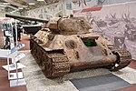 Unrestored T-34-76 Model 1942 – Patriot Museum, Kubinka (38218665982).jpg