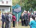 Unveiling ceremony for the historical marker at the Taylor House in Tallahassee.jpg