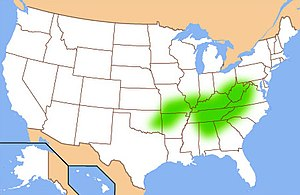 Upland South - The Upland South is defined by landform, history, and culture, and does not correspond well to state lines. This map shows the approximate region known as the Upland South.