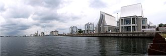 Utzon Center - The Utzon Center on Aalborg's waterfront