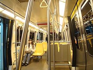Taipei Metro VAL256 - Image: VAL256 Interior Center