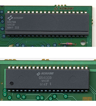 Memory management controller - The VRC4.