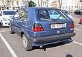 VW Golf II Old Italian plate (47863135191).jpg