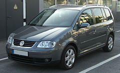 Volkswagen Touran I przed liftingiem
