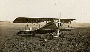 SPAD S.VII - SPAD VII at Vadelaincourt in 1917