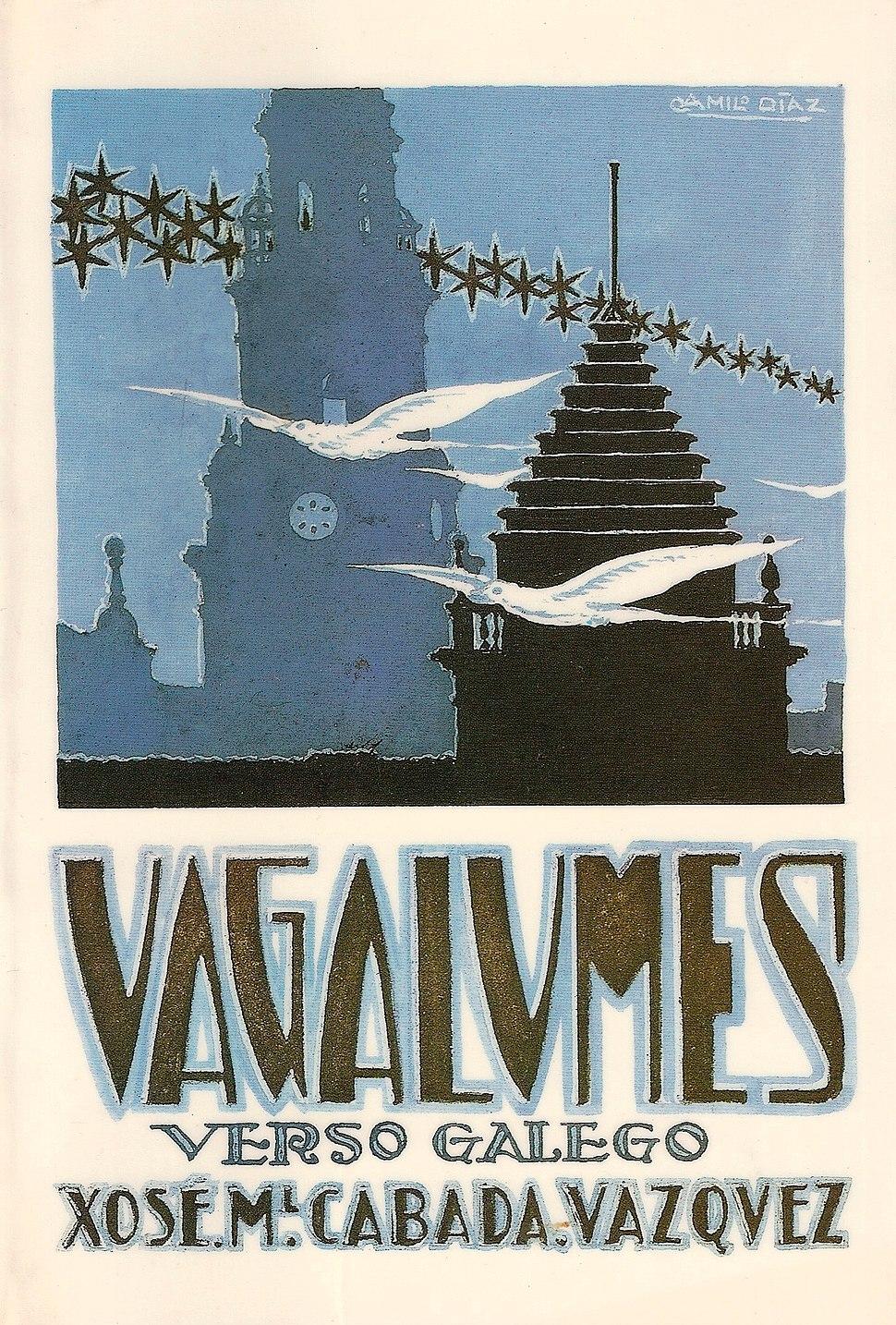 Vagalumes, verso galego. Xosé Manuel Cabada Vázquez. 1931
