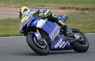 Valentino Rossi - Rossi at the 2005 British Grand Prix