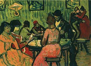 Van Gogh The Brothel