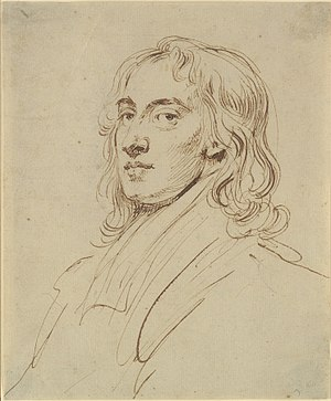 John Vanderbank - A self-portrait drawing of Vanderbank, c. 1720