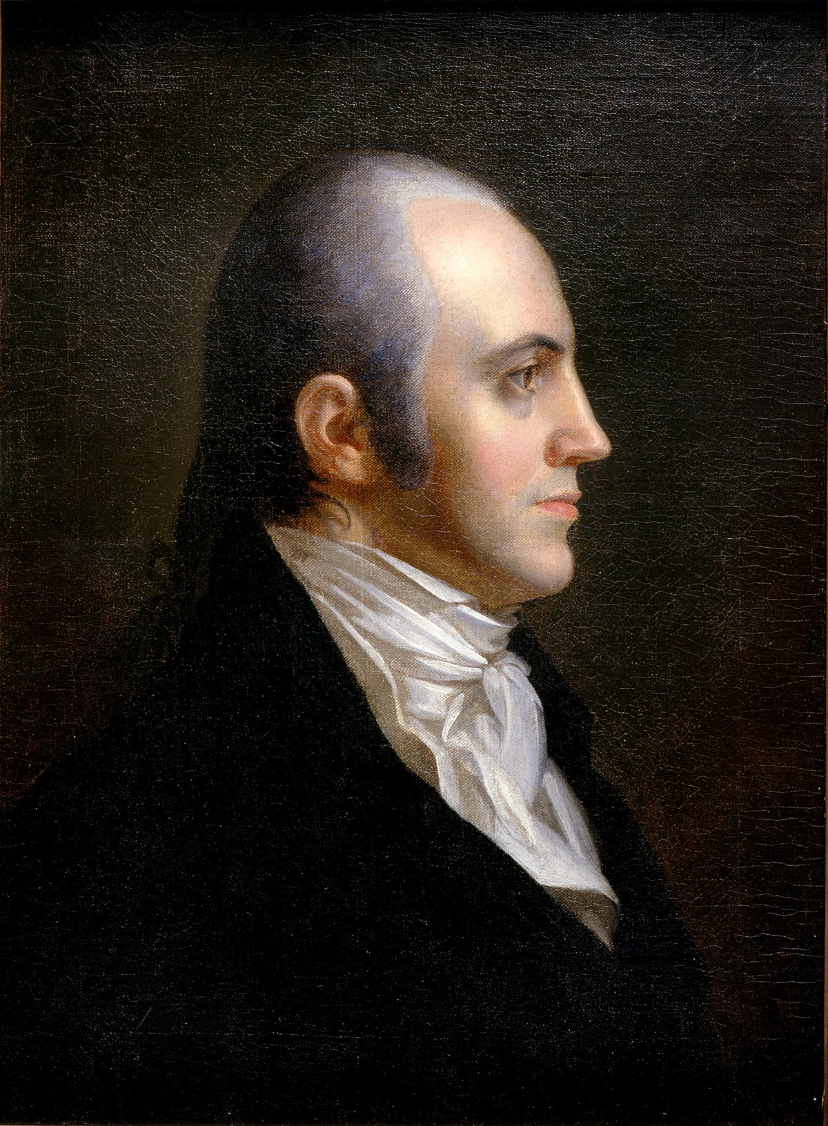 what happened to aaron burr