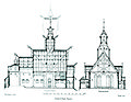 Vang stave church - cross section and longitudinal section.jpg