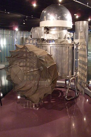 Venera - Full-scale model of the Venera 1 in the Memorial Museum of Cosmonautics