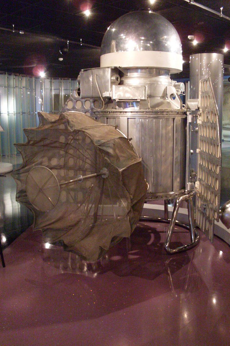 Venera 1 (a) (Memorial Museum of Astronautics).JPG