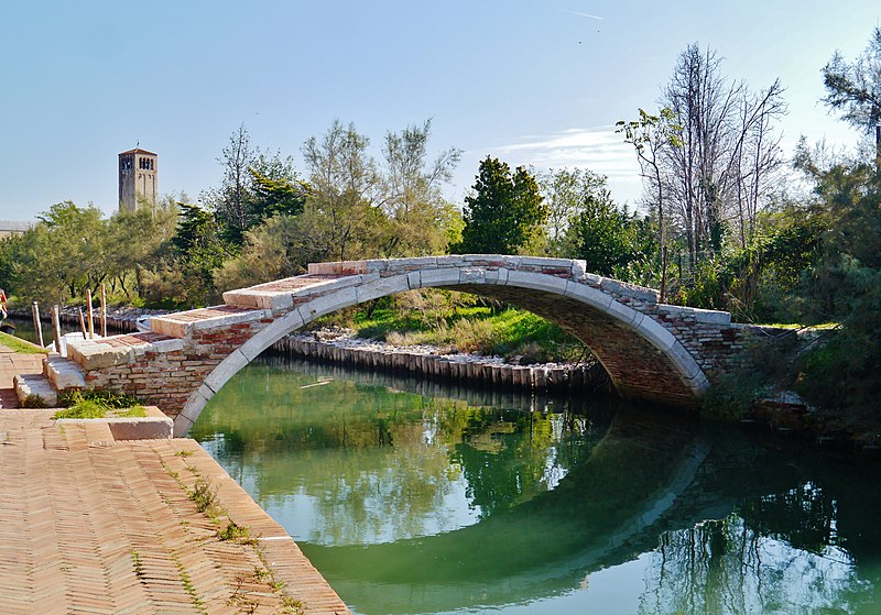 Venezia Ponte del Diavolo visiter Torcello