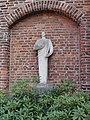 Venray Blitterswijck, Rijksmonument 28433, O.L.V. Geboortekerk modern buitenbeeld H.Hart.JPG