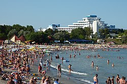 Venus, Romania -beach-26July2009.jpg