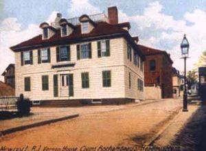 William Vernon - William Vernon's home, Vernon House.