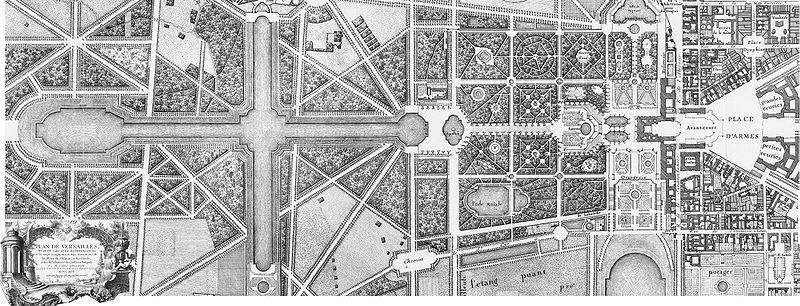 Gardens Of Versailles Plan 1